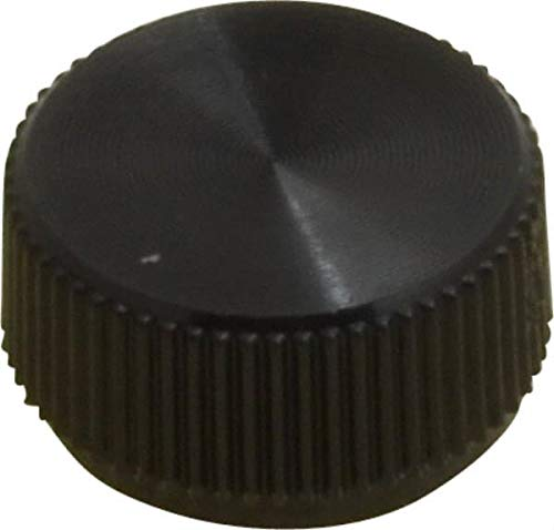 JumpingBolt Knurled Plastic Thumb Screw 3/8'' Head Diam, 13/64'' Head Height, Material May Have Surface Scratches