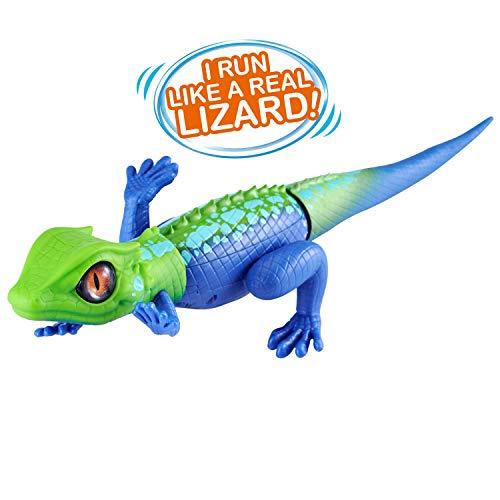 ROBO ALIVE Robotic Lizard Toy Pet (Green + Blue) Series