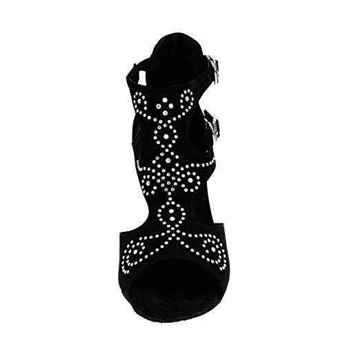 Simples Baile Entrenamiento Color Cjjc Zapatos De Latino Rendimiento Adultas Puro Abiertos Uso Mujeres Para Tacón Mujeres Alto Alto qx4xY1