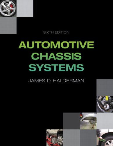 Automotive Chassis Systems (6th Edition) (Automotive Systems Books)