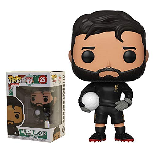 Funko Pop! Figura De Vinil Football Liverpool - Alisson Becker