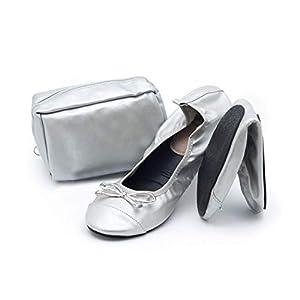 CatMotion Chaussures Confortables Pliantes dans Votre Sac à Main, Ballerines pour Dames, After Party, de Mariage…