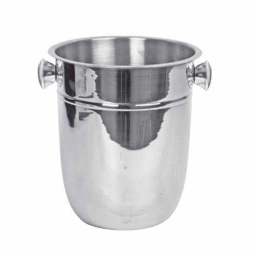 Excellante 8-Quart Stainless Wine Bucket