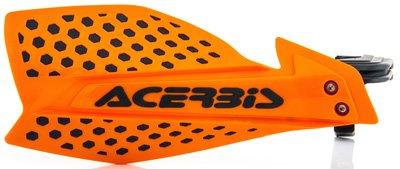 Acerbis 7/8 or 1 1/8 X-Ultimate MX Motocross ATV Handguards Orange/Black (Acerbis Atv)