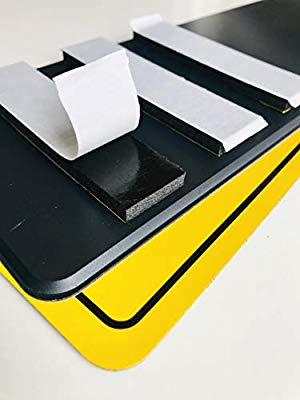 HEAVY DUTY Number Plate Sticky Pads Adhesive Double Sided Car License Fixing