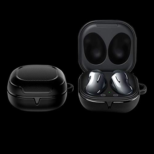 //Galaxy Buds Pro Case 2021 2020 Goton Compatible for Samsung Galaxy Buds Live Case ,Hard PC Shockproof Case Protective Cover with Keychain(Clear)