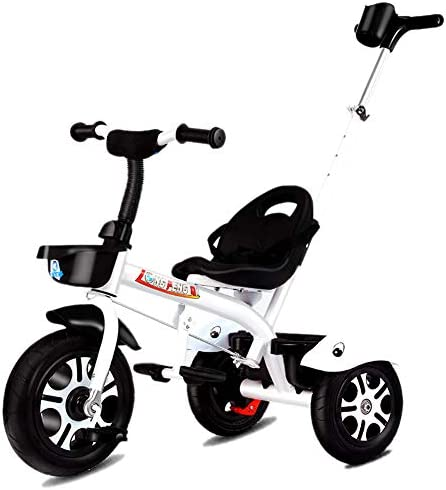 GUO@ Triciclo para NiñOs 3 En 1 Triciclo para NiñOs Triciclos De 3 Ruedas Titanio VacíO Triciclo para NiñOs con Ruedas Y Manillar para Padres Carrito para BebéS De 1-3 A 6 AñOs: Amazon.es: Hogar