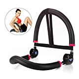 Cheap SYOSIN 10-in-1 Ab Machine Fitness Workout Exercise Equipment Home Gym for Men Women (Black)