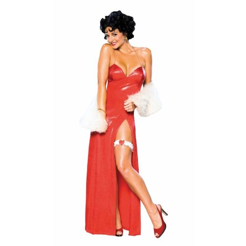Toned Down Halloween Costumes (BETTY BOOP DLX STARLET SMALL)