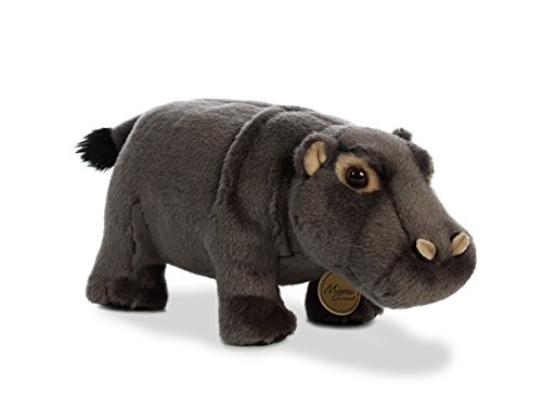 Aurora World Miyoni Toy Hippopotamus Plush