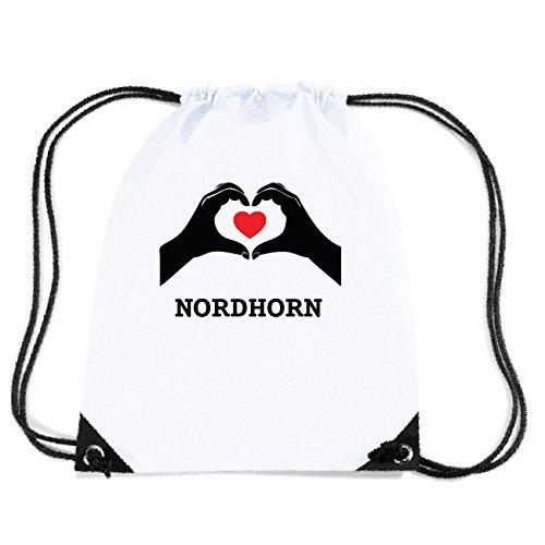 JOllify NORDHORN Turnbeutel Tasche GYM1095 Design: Hände Herz