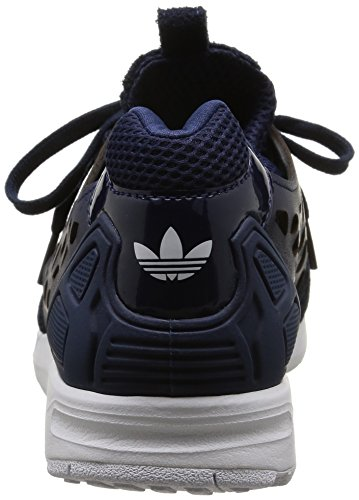 Indigo Paire flux Bleu Chaussures Sport night White De lace Pour Zx Femme Indigo night woman ftwr Adidas qFBxwHf6n