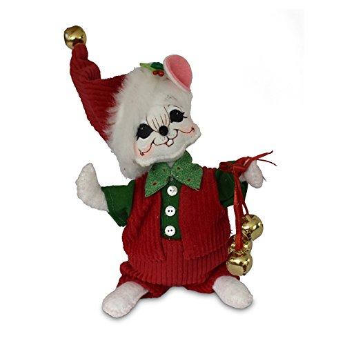 Annalee 6in Jinglebell Boy Mouse