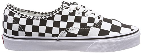 Vans Scarpe Running Nero Unisex mix Authentic adulto Checker r4wH8r6
