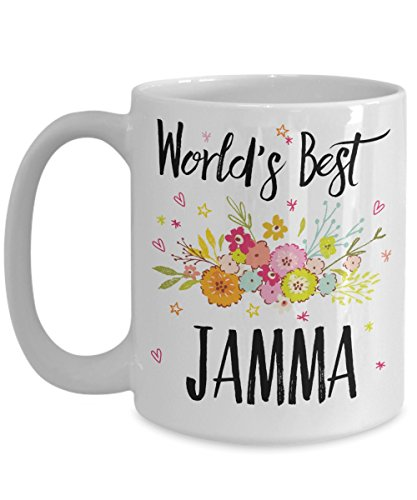 Jamma Mug - World's Best Jamma - Best Jamma Ever - A Thank You Or Appreciation Gift - Coffee Cup In 11oz Or 15oz Sizes