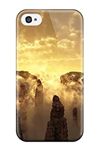 Top Quality Rugged Sky Cgi Case Cover For Iphone 4/4s