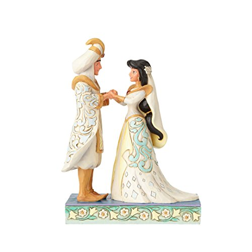 Jim Shore Disney Traditions by Enesco Jasmine and Aladdin Wedding Figurine