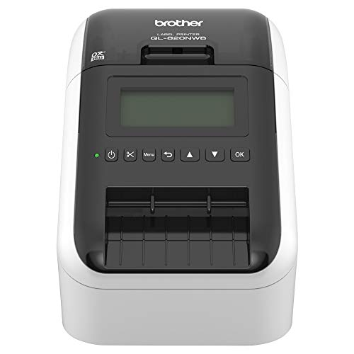 (Brother QL-820NWB Professional, Ultra Flexible Label Printer with Multiple Connectivity options)