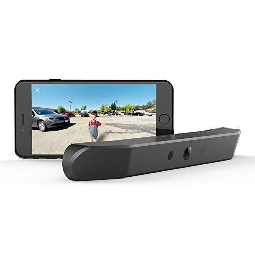 nonda ZUS Smart Backup Camera, Real Wireless Rear View Camera with 170 Degrees Wide Angle and Rechargeable Battery, IP67 Waterproof, Easy Installation with No Wiring or Drilling Needed
