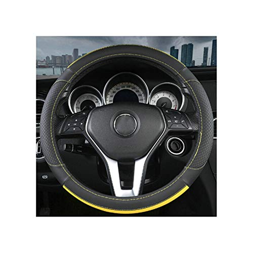 Microfiber Leather Steerling Wheel Cover,Specific Vehicle Auto Car Wheel Cover 19.6