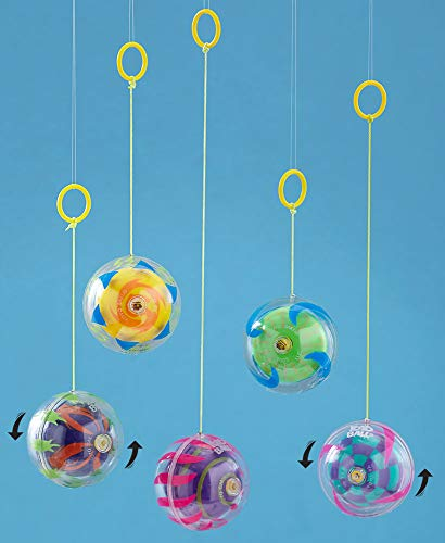 The Lakeside Collection Big Time Toys YoYo Ball (Styles Will Vary) Handheld Ball -