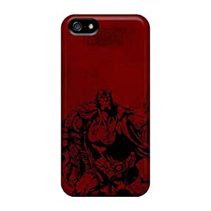 Iphone 5/5s LWe17992JyRJ Hellboy Poster Cases Covers. Fits Iphone 5/5s