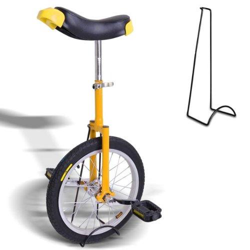 16'' Yellow Top Quality Unicycle Wheel
