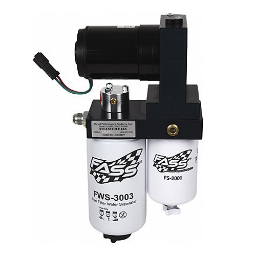 FASS (T C10 150G) Titanium Series Fuel Air Separation System, 150 gph (Best Lift Pump For Lml)