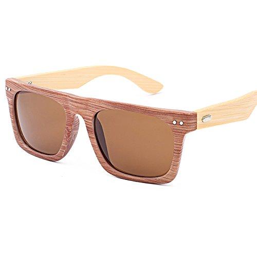 Lonshell en soleil de bois lunettes Homme Lunettes verres A bambou de voyage Femme AHgpWqx