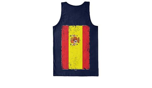 Gran bandera de España – España Camiseta de tirantes para hombre ...