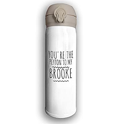 You're The Peyton To My Brooke Vacuum Insulated Stainless Steel 10-Ounce Commuter Bottle,Mug