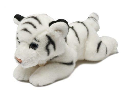 MiYoni Wild 8-inch Weiß Tiger by MiYoni Wild