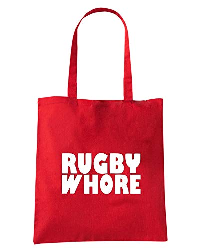Borsa TRUG0160 LOGO WHORE Shopper Speed Shirt Rossa RUGBY Oxzwqn6v57