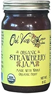 product image for ORGANIC STRAWBERRY JAM - 100% All Natural Fruit Preserve Spread USDA & PCO Certified Amish Handmade USA
