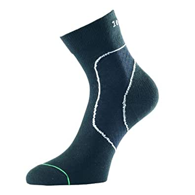 Amazon.com: 1000 Mile Support Socks, Sprains Black&White