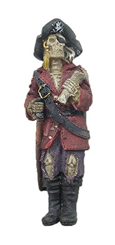 DollsofIndia Skeleton Captain in Full Dress - Resin Magnet - 4 x 1.5 x 0.5 inches (CU94) at amazon