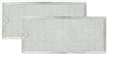 2 PACK MMV4205BAS Maytag Microwave Oven Aluminum Grease Filter (Maytag Replacement Filter)