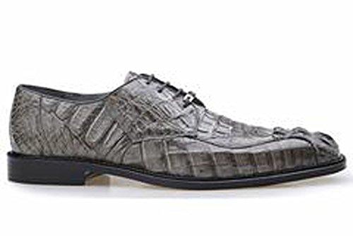 Belvedere Chapo Genuine Hornback Crocodile Oxford Shoe 15 Grey ()