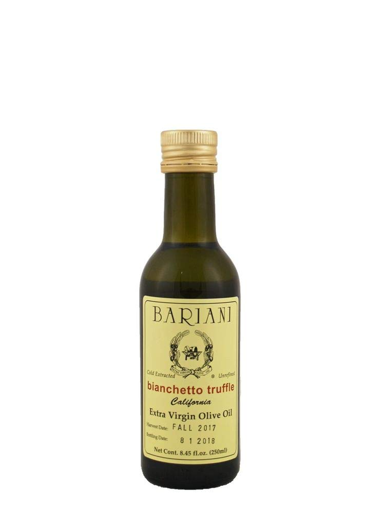Bariani White Truffle Infused Extra Virgin Olive Oil 8.45 ounce bottle