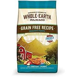 Whole Earth Farms Grain Free Healthy Puppy Recipe Dry Food, 25 Lbs.