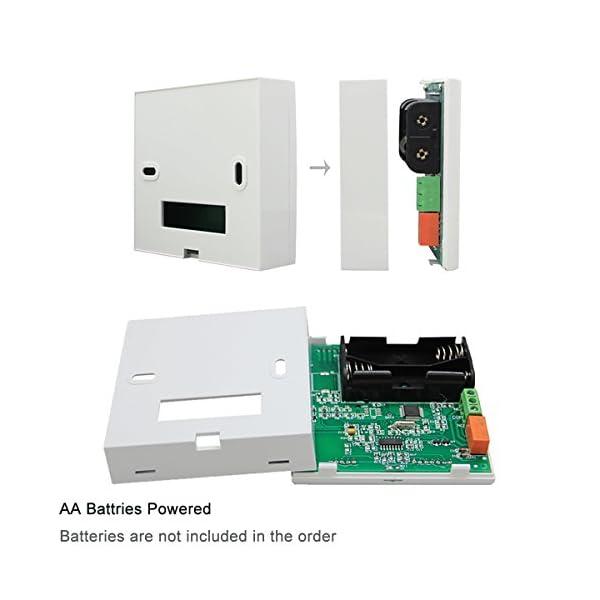 Beok Termostato a Batteria per Caldaia a Gas Programmabile Ambiente Termostato de Parete con Digitale LCD Touchscreen… 5 spesavip