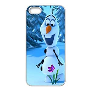 Customize Frozen Snowman Back Cover Case for Apple iphone 5,5S JN5S-1984