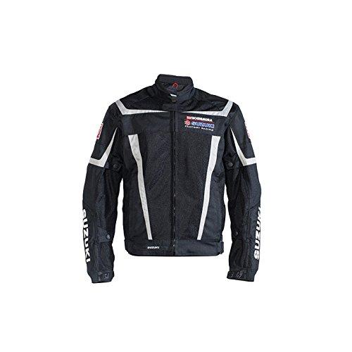 Suzuki Yoshimura Factory Racing Mesh Riding Jacket Black XX-Large XXL 2X (Suzuki Racing Yoshimura)