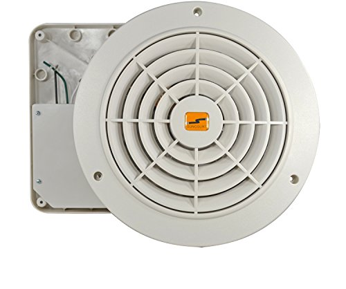 Thruwall Room To Room Fan : Suncourt tw p thru wall fan hardwired variable speed