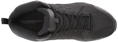 New Balance Mens 608v4 Mid Training Shoe Black bFokK3J7NH