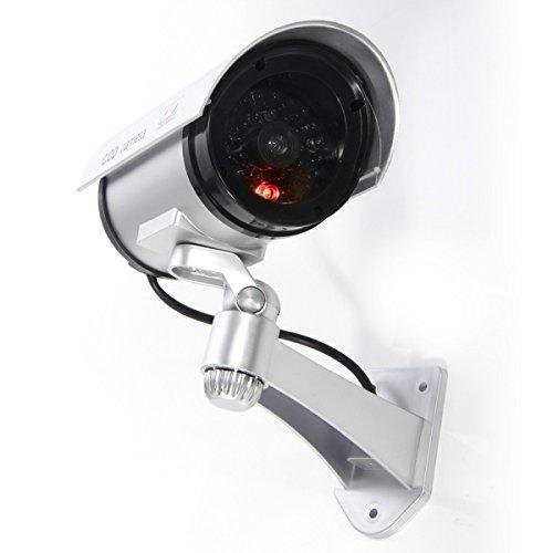 PINDIA CCTV Blinking LED Dummy Security Wall Camera