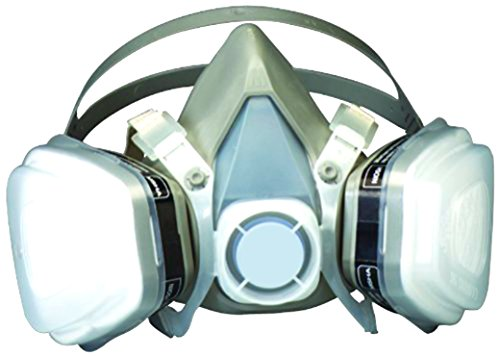3 Meter Respirator Cartridges - 3M Dual Cartridge Respirator Assembly 07193, Large