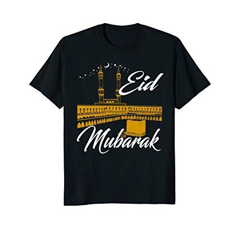 Kaaba Eid Mubarak Islamic Ramadan Kareem T-Shirt Gift for sale  Delivered anywhere in USA