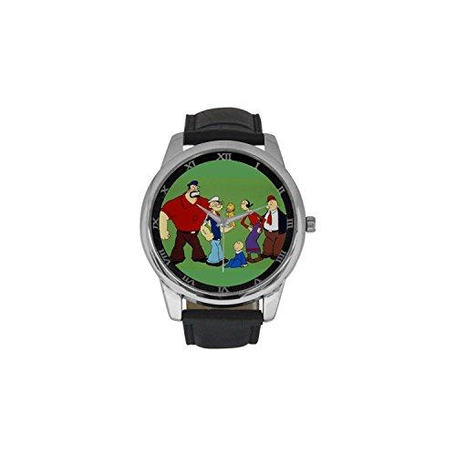 popeye-dbln2207-men-wrist-watches-leather-strap-large-dial-watch