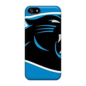 Awesome Carolina Panthers Flip Case With Fashion Design For Iphone 5/5s